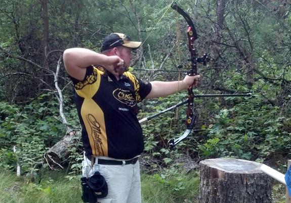 Lighted sights archery